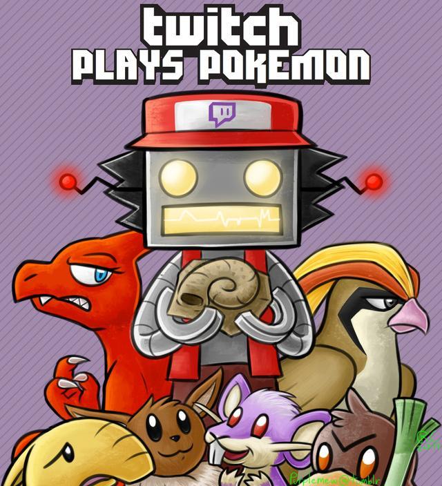 twitch plays pokemon scrittura collettiva