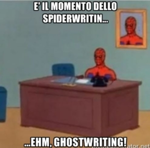 ghost writer ghostwriter