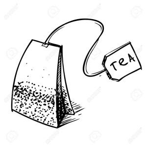bustina del té